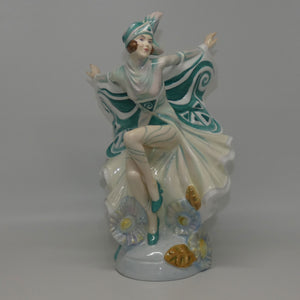 HN5065 Royal Doulton figure Holly Blue (Green)