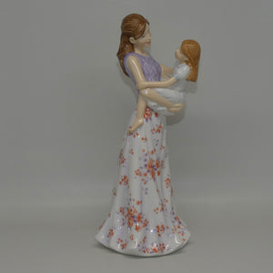 HN5688 Royal Doulton figure A Mother's Joy (Mother's Figure of the Year 2014)