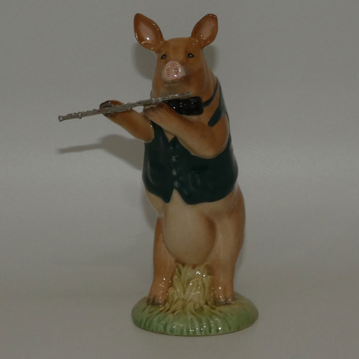 PP03 Beswick Pig Prom David the Flautist