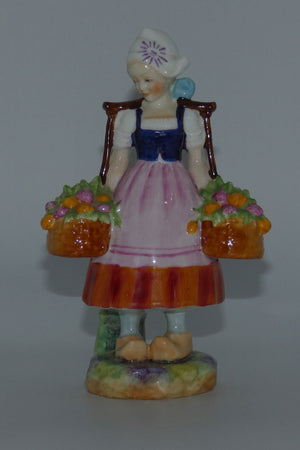 RW2922 Royal Worcester figure Dutch Girl
