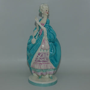 RW3111 Royal Worcester Bal Masque figure