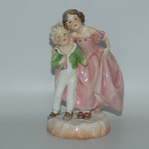 RW3149 Royal Worcester Sister figure