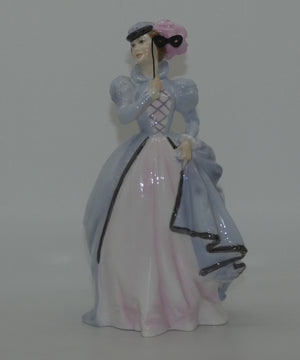 RW4149 Royal Worcester figure Masquerade