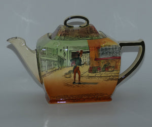 Royal Doulton Dickens Alfred Jingle Friar shape teapot D5175