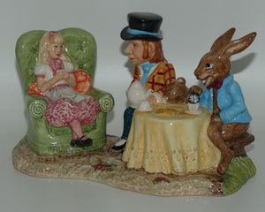 LC1 Beswick Alice in Wonderland The Mad Hatter's Tea Party tableau (Ltd Ed)