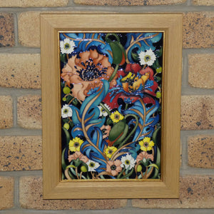 Moorcroft Arts and Crafts Plaque (Num Ed)
