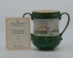 Royal Doulton Australia Bicentenary Past to Present Loving Cup