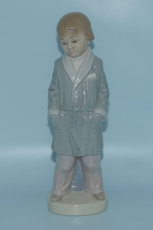 Lladro figure Boy with Robe #4900