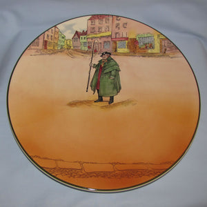 Royal Doulton Dickens Tony Weller large chop plate