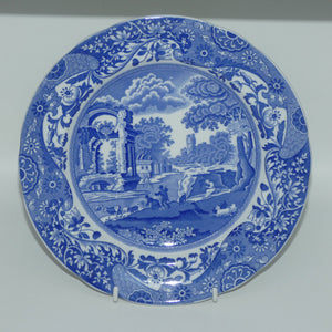 Copeland Spodes Italian England Blue and White plate