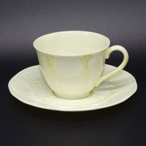 Belleek New Shell cup and saucer duo
