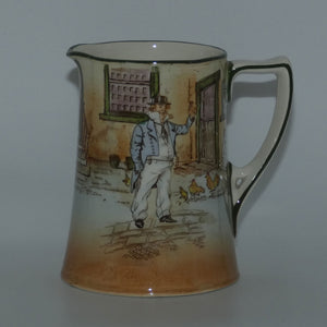 Royal Doulton Dickens Cap'n Cuttle Corinth shape jug D3020