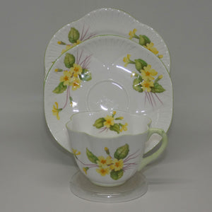 Shelley Dainty Shape Primrose trio