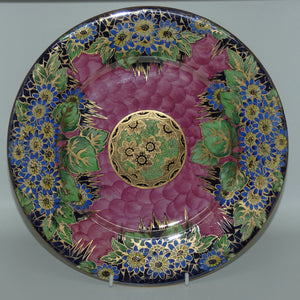 Maling plate Daisy 6157 Pink and Gold Lustre
