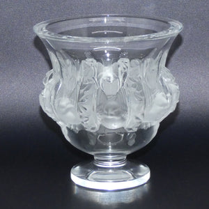 Lalique France Frosted Dampierre vase (#2)