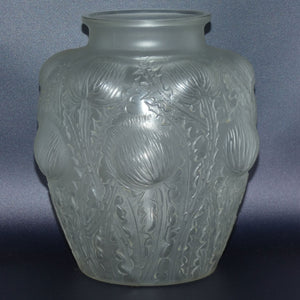 R. Lalique France Domremy vase