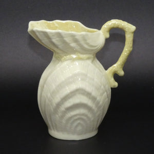 Belleek Double Shell small milk jug