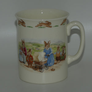 Royal Doulton Bunnykins Family with Pram Malvern Beaker