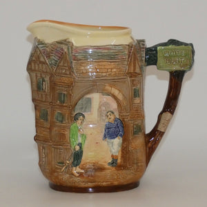 Royal Doulton Dickens Fat Boy & Poor Jo relief jug D6395