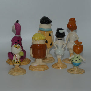 Beswick Flintstones set of 7 figures (Ltd Ed)