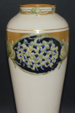 James MacIntyre & Co William Moorcroft Lilac tall vase
