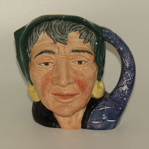D6497 Royal Doulton large character jug The Fortune Teller