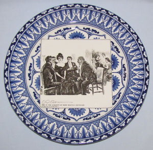 Royal Doulton CD Gibson Girls Plate - #09: She is the subject...