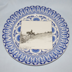 Royal Doulton CD Gibson Girls Plate - #19: They take a morning run