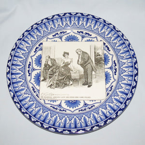 Royal Doulton CD Gibson Girls Plate - #17: Mr Waddles arrives...
