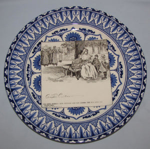 Royal Doulton CD Gibson Girls Plate - #24: And here, winning...
