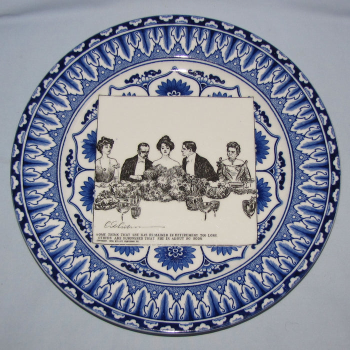 Royal Doulton CD Gibson Girls Plate - #08: Some thinks that she had remained...