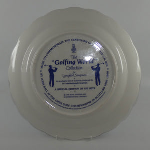 Royal Doulton Golfing World Collection USA Augusta plate