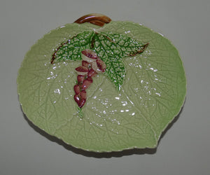 Carlton Ware Green Foxglove leaf dish (small)