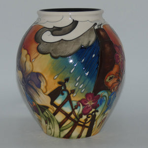 Moorcroft Guardian Angel 4/8 vase (Num Ed)