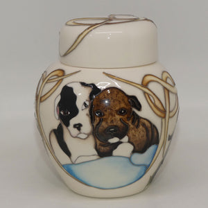 Moorcroft Happy Staffies Ginger Jar 769/4 (Num Ed)