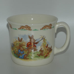 Royal Doulton Bunnykins Haymaking | Lunch Break Hug a Mug