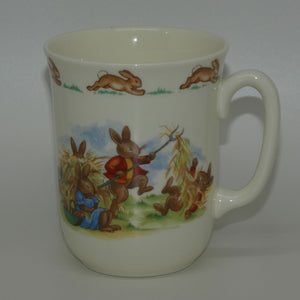 Royal Doulton Bunnykins Haymaking | Lunch Break Don Beaker
