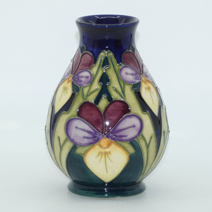 Moorcroft Heartsease 7/5 vase