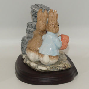 Beswick Beatrix Potter Hiding from the Cat tableau | BP8c