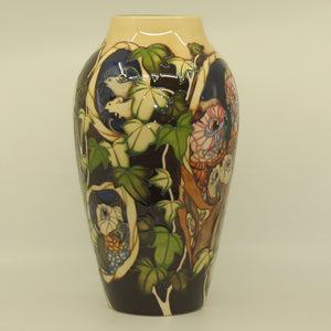 Moorcroft Hoots at Home 200/15 Prestige Vase (Ltd Ed)