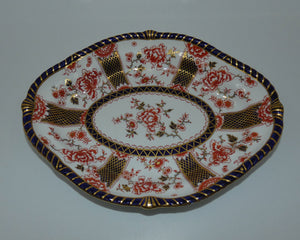Royal Crown Derby Imari Pattern 2229 oval bowl (#1)