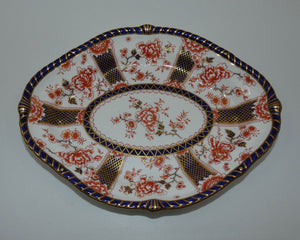Royal Crown Derby Imari Pattern 2229 oval bowl (#2)