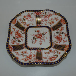 Royal Crown Derby Imari Pattern 2229 square bowl (#1)