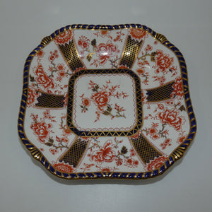 Royal Crown Derby Imari Pattern 2229 square bowl (#2)