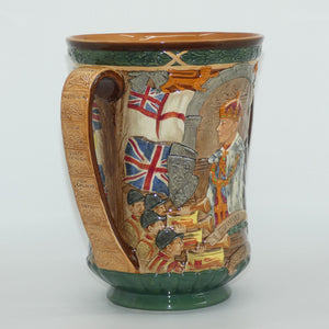 Royal Doulton King Edward VIII Coronation Loving Cup