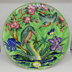 Maling plate Kingfisher Green 6304