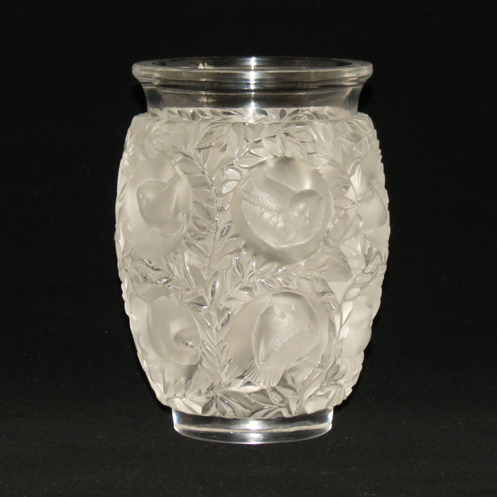 Lalique France Frosted Bagatelle vase
