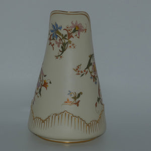 Royal Worcester Blush Ivory large bulbous pitcher