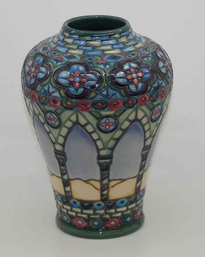 Moorcroft Meknes (Day) 576/9 vase (Ltd Ed)