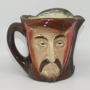 D5757 Royal Doulton large character jug Mephistopheles (With Verse)